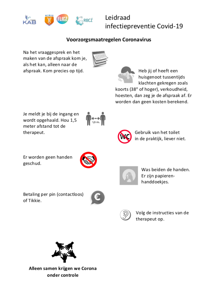 Poster_Leidraad_infectiepreventie_Covid-19_CAM-sector_v2.0